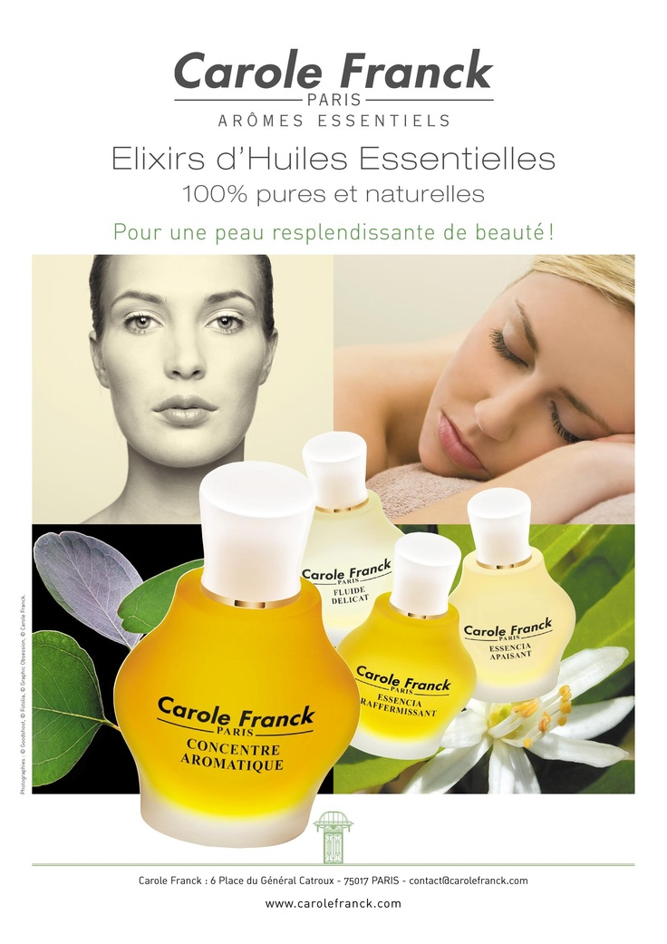 Elixirs d'Huiles Essentielles - Carole Franck Canada