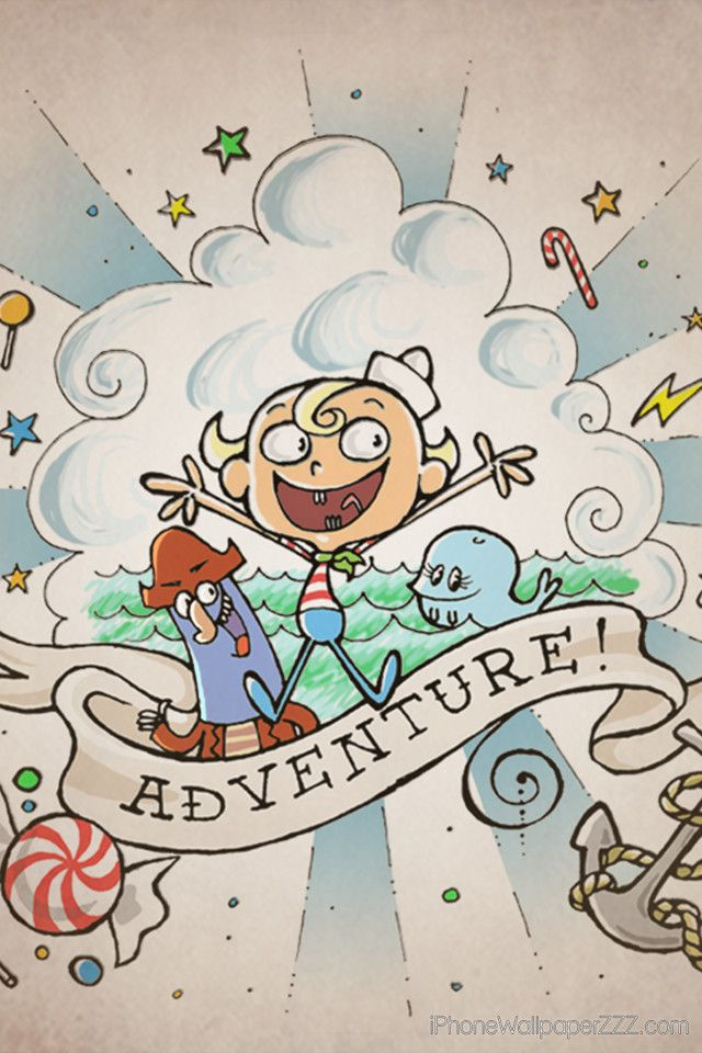 The Marvelous Misadventure of Flapjack, now that I thin about it adventure time ripped this show off