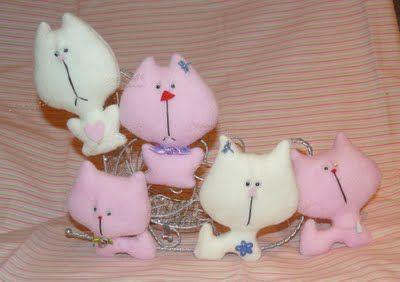 Флисовые котейки - Ярмарка Мастеров - ручная работа, handmade