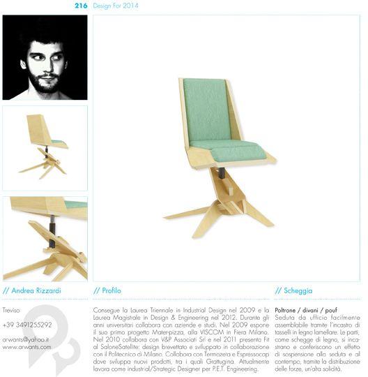 DESIGN FOR 2014 by Andrea Rizzardi, via Behance