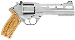"Chiappa Firearms 6"" Rhino  .357 Magnum.  Shoots through the bottom cylinder."