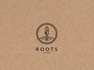 Roots juice bar logo by @mario_lovric > Revive Your Design