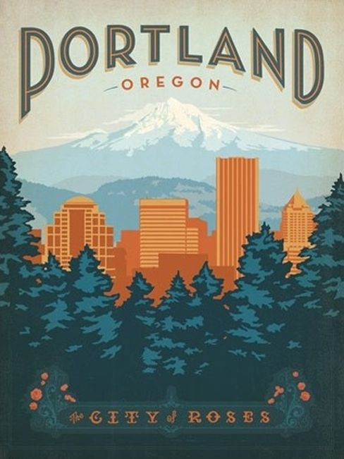 Portland, nice city when I visited. Most especially enjoyed Walla Walla Valley vineyard area, however! (Less than 250 miles.)
