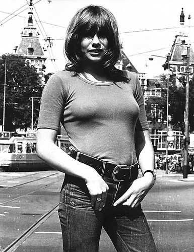 Dutch Actress Monique van de Ven Amsterdam, 13 juli 1972  ANP Historisch Archief Community