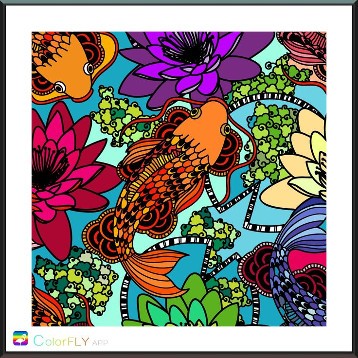 192 best coloring pages - finished images on Pinterest | Coloring ...