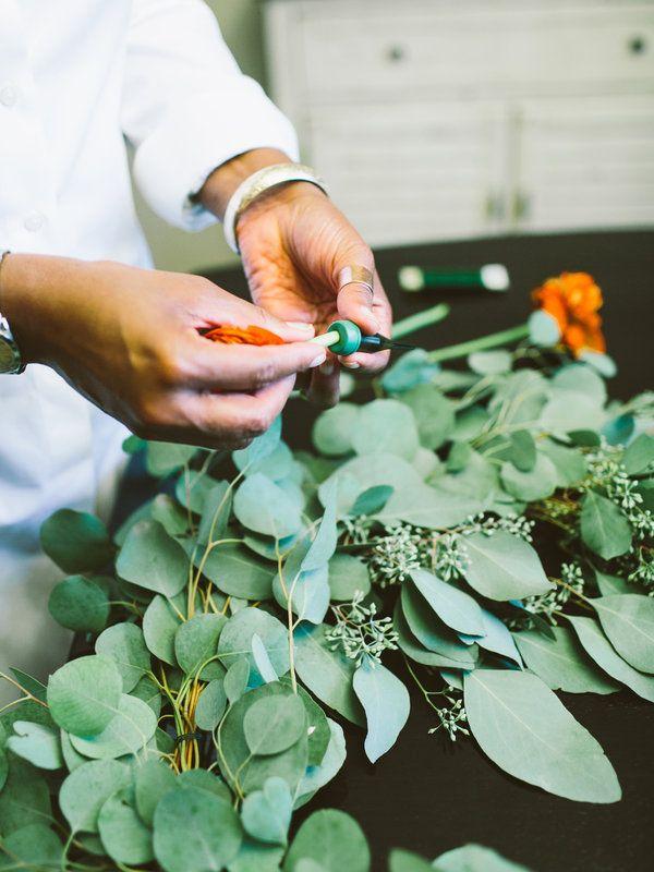 DIY: Flower Chandelier - Project Wedding