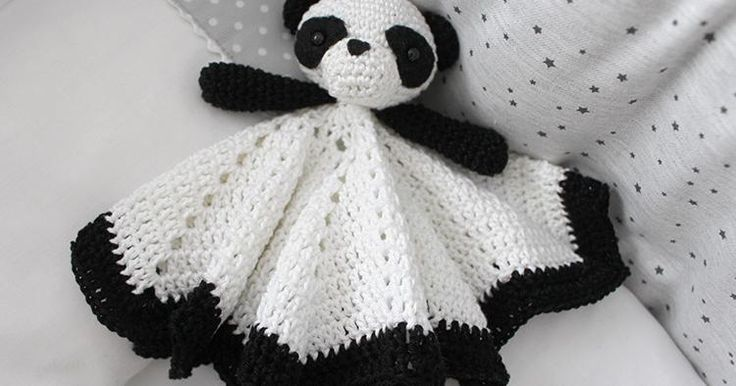 Manta de apego de crochet, ¡incluye el patrón!