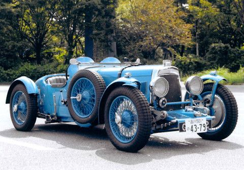 Picture of a 1932 Aston Martin International Le Mans in the Motorbase gallery of car pictures.