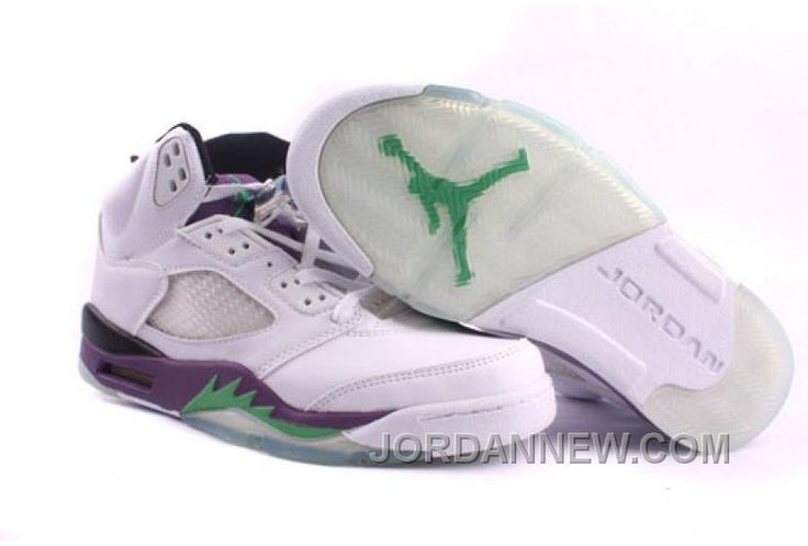 http://www.jordannew.com/mens-nike-air-jordan-5-shoes-white-purple-green-cheap-to-buy.html MEN'S NIKE AIR JORDAN 5 SHOES WHITE/PURPLE/GREEN CHEAP TO BUY Only $89.88 , Free Shipping!