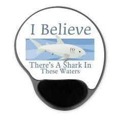 Shark In These Waters Gel Mousepad> Shark In These Waters> Welcome To Presents From Santa