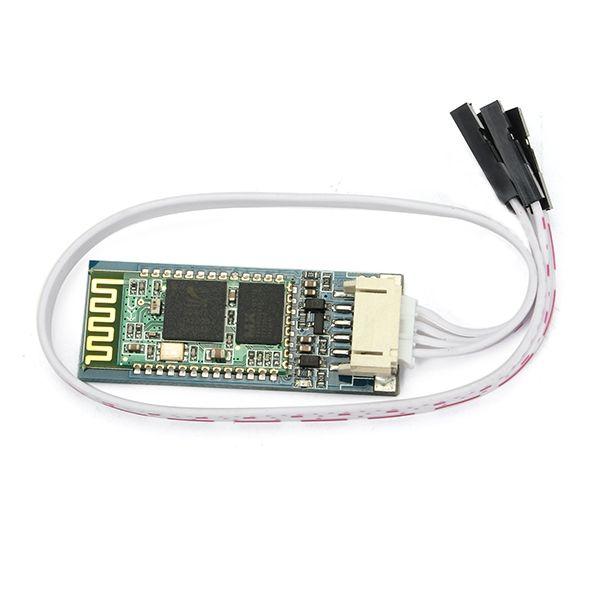 JY-MCU V1.07 Wireless Bluetooth Serial Transmission Module With Base Plate HC06 Slave SMD Socket