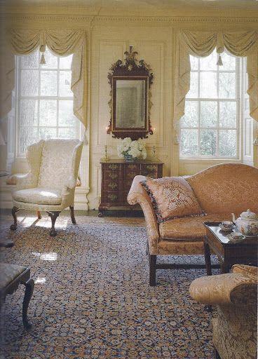 527 best georgian interiors images on pinterest georgian for 18th century window treatments