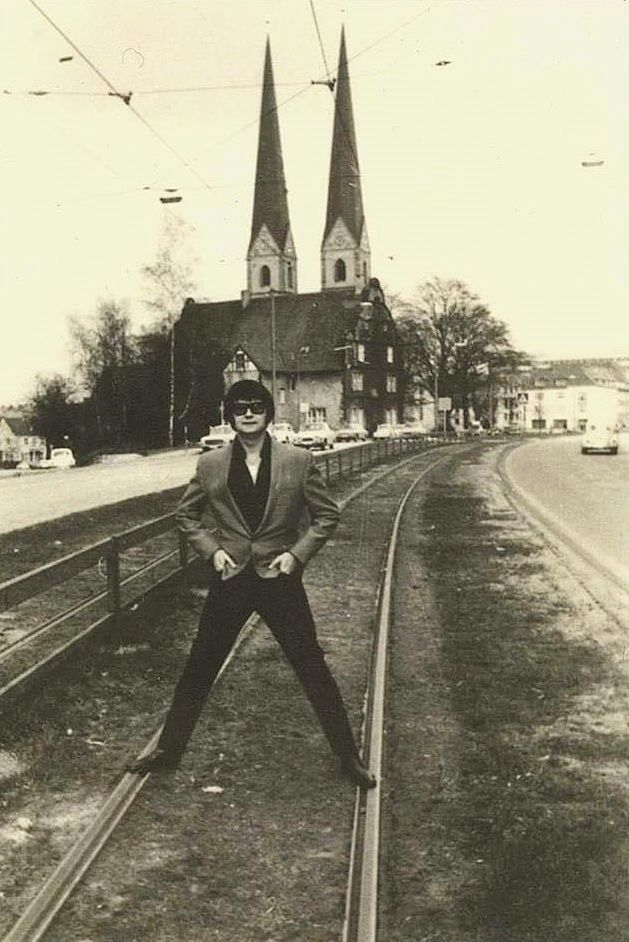 "pinkeye-private-i: ""Roy Orbison in Germany c. 1975. """