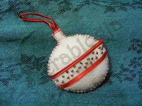 Christmas felt ornaments - mixed