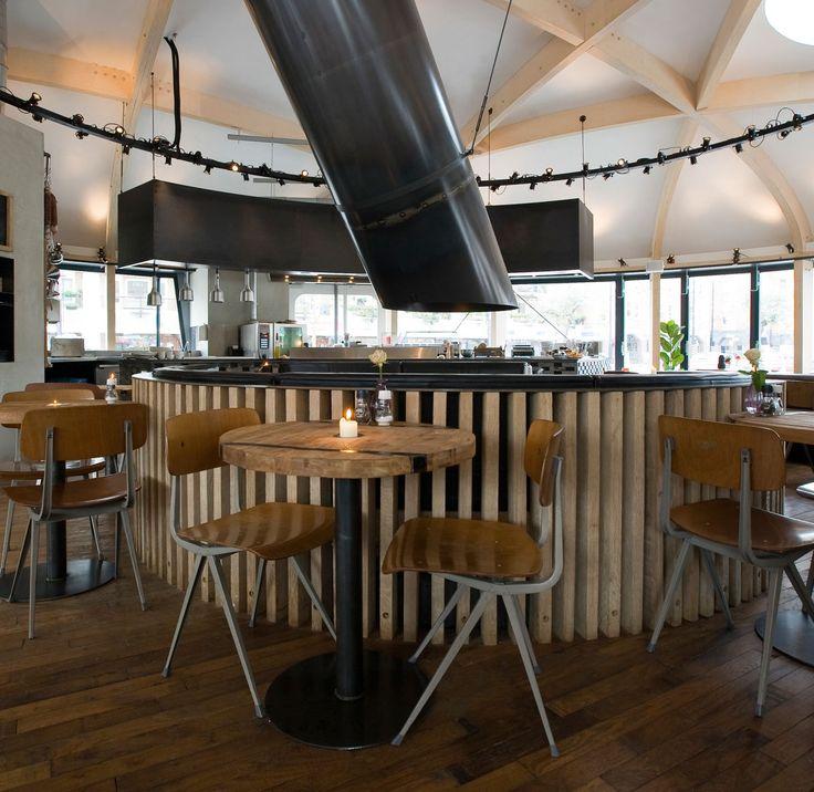 Cafe Zurich Amsterdam designed by TANK