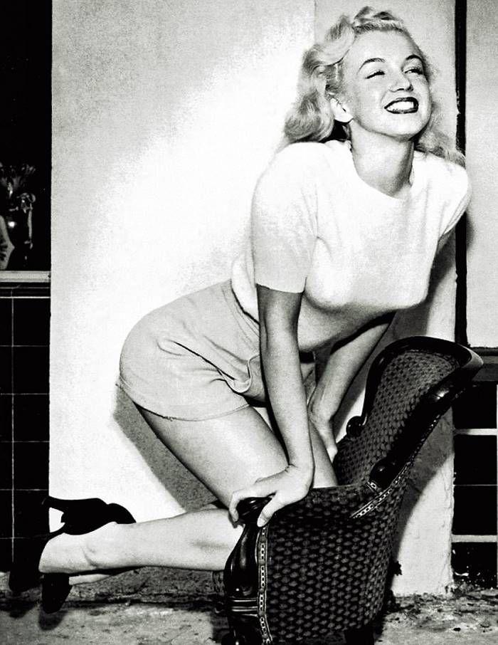 Мэрилин Монро: чудесное преображение в актрису • НОВОСТИ В ФОТОГРАФИЯХ