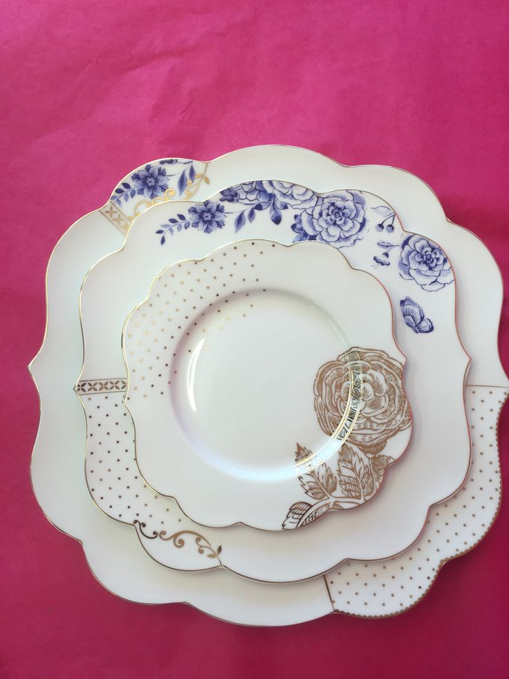 Royal White Pip Studio gorgeous plates available at Daisy Park