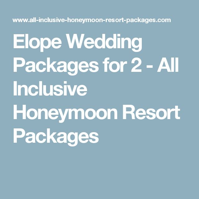 All Inclusive Wedding Venues: Best 20+ All Inclusive Wedding Packages Ideas On Pinterest