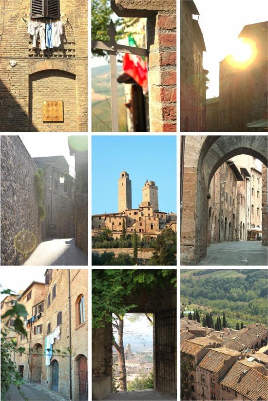 Traveling around Tuscany !!