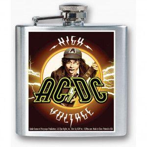 AC/DC HIGH VOLTAGE FLASK #acdc #highvoltage #flask #liquor #alcohol #concertgear #coolflask #band #music #bandmerch #licensed #licensedmerch #entertainment #rocknroll #Ac/dc #rockabilia