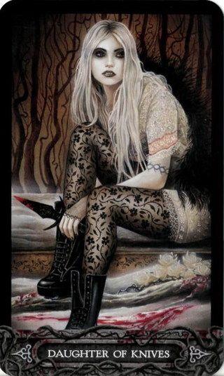 the tarot of vampyres | The Tarot of Vampyres by Ian Daniels - Галерея Таро ...