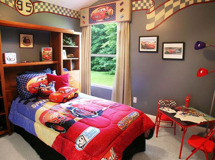 25 Disney Inspired Rooms That Celebrate Color And Creativity. Disney Cars  BedroomDisney ...