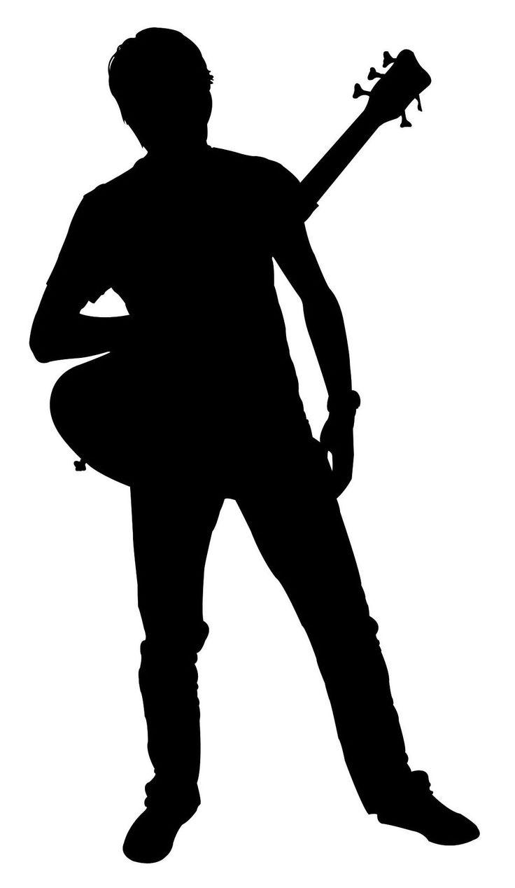 Silhouette Guitarrista