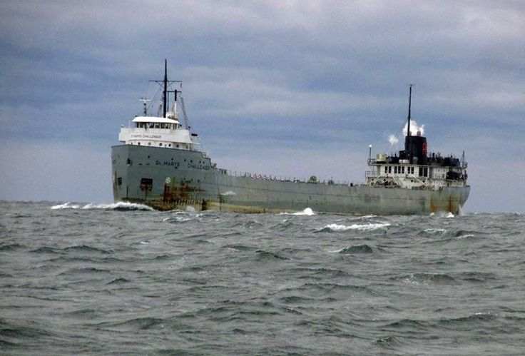 St. Mary's Challenger. The 108-year old grand matriarch of the Lake freighters.
