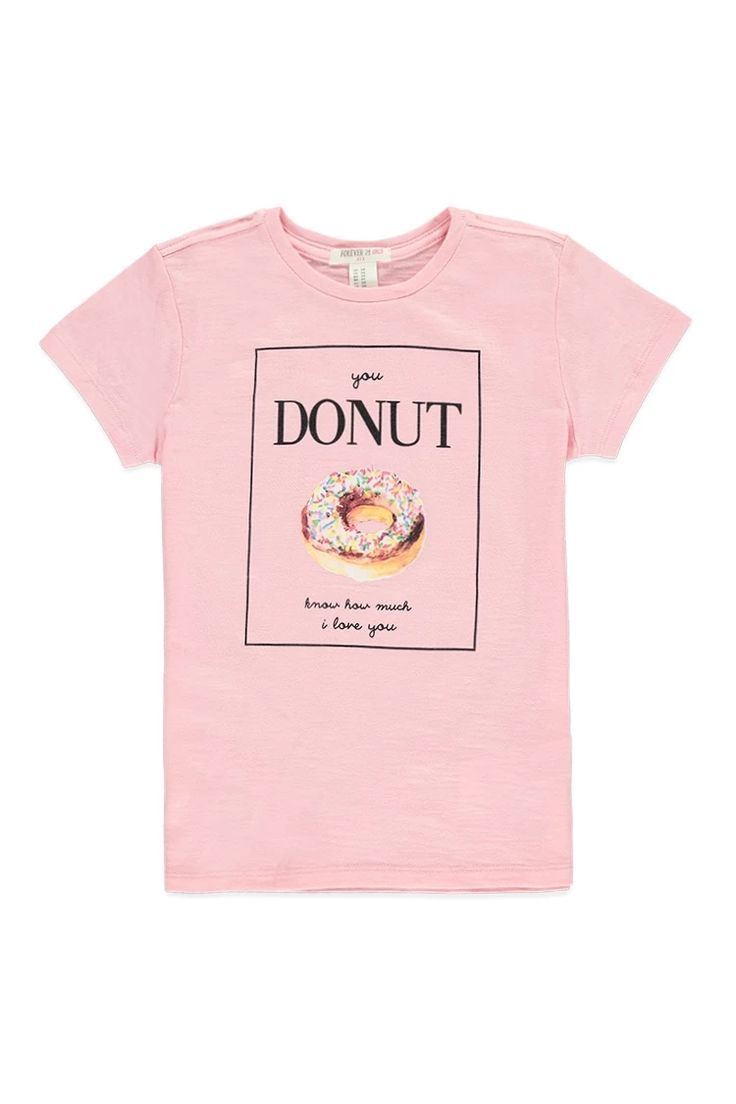 Girls donut graphic tee kids f21kids forever21 for Graphic t shirts for kids