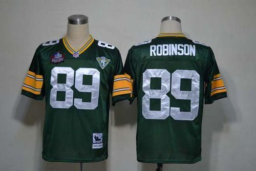 Mitchell And Ness Packers #89 Dave Robinson Green Throwback Stitched NFL Jersey  $20.50