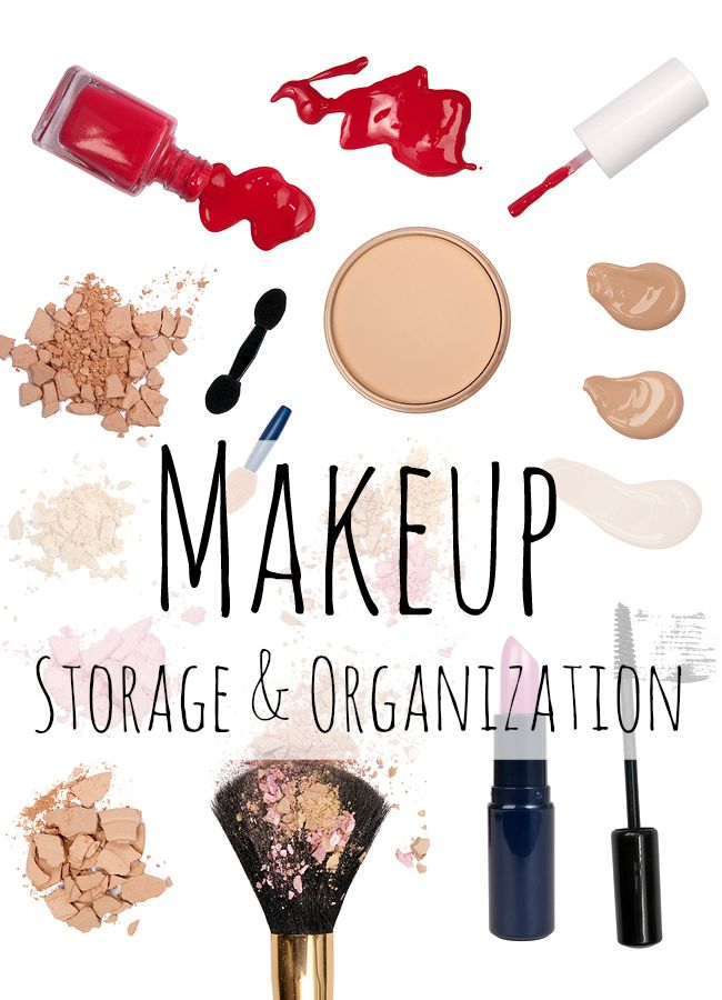 28 best images about Cosmetic Organization on Pinterest