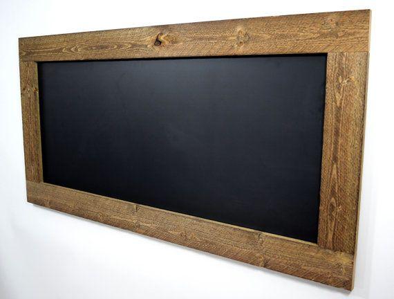10 Ideas About Framed Chalkboard Walls On Pinterest