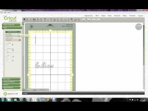 Cricut Craft Room Font Tutorial CCR   YouTube Part 65