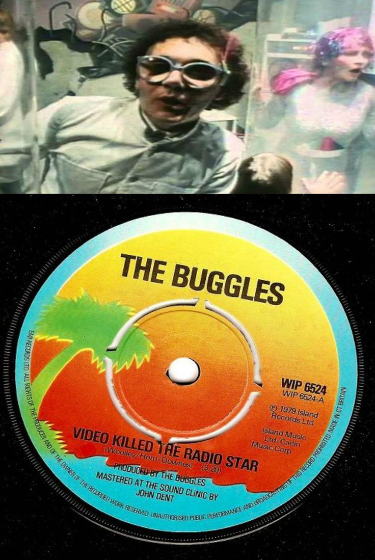 Video Killed The Radio Star by The Buggles. 1979.  Lead singer Trevor Horn went on to become one of the most prolific record producers in the world.