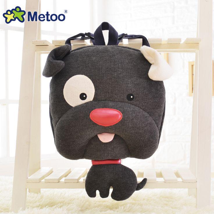 метоо Джейн Европейский собака рюкзак щенок чучела животных рюкзак милый дети рюкзак путешествия сумка-написали. ком день кота