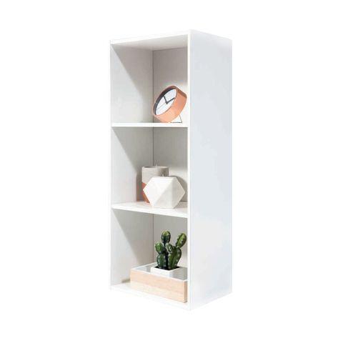 3 Tier Bookshelf Wht homemaker