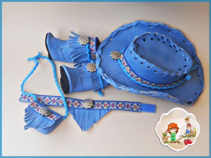 Azul vaquero, (Agotado)