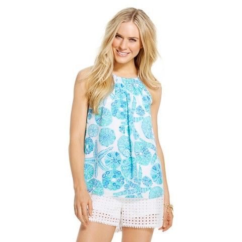 Lilly Pulitzer for Target Women's Halter Top - Sea Urchin for You