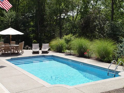 gothic inground swimming pools and fireplaces pool gallery view inground pool designs ideas - Inground Pool Designs Ideas
