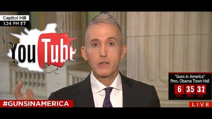 Trey Gowdy Shuts Down CNN Reporter Wolf Blitzer on Gun$ Control