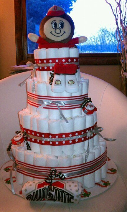 21 Best Ohio State Bby Shower Theme Images On Pinterest
