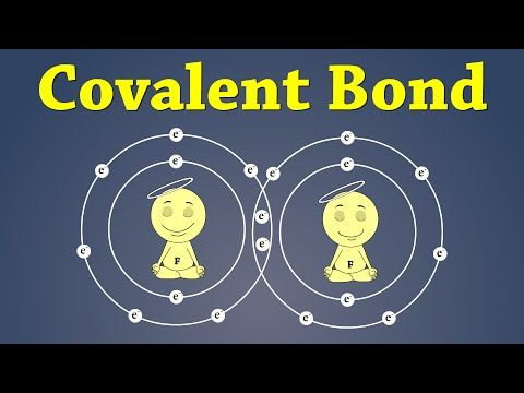 Ionic and covalent bonding animation - YouTube