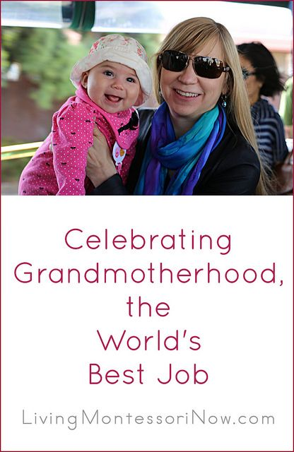 Today, I'm celebrating my first year at the world's best job ... being a grandmother!