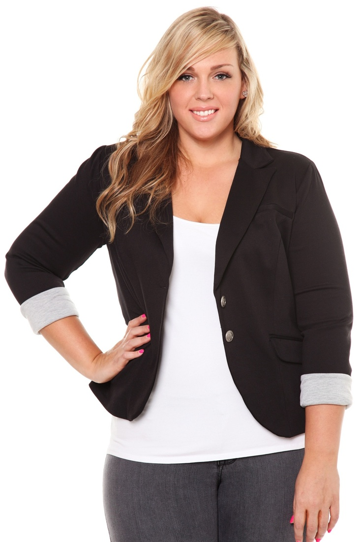 8 best business casual plus size images on Pinterest | Curvy ...