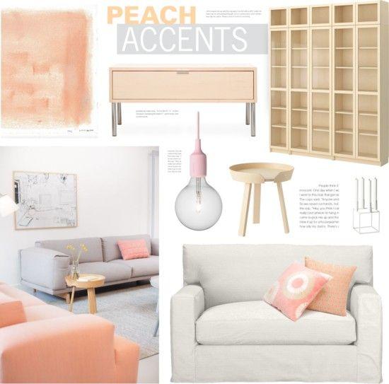 Scandi Style   Peach Accents