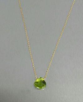 Peridot Necklace (8mm)