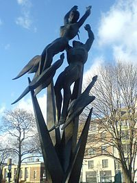 The Freedom of the Human Spirit by Marshall Fredericks  Birmingham, MI