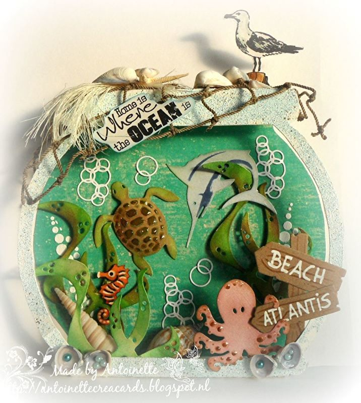 470.713.504 Card Art Vissenkom   Dutch Card Art   Noor & Zo