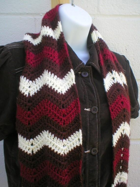 Free Crochet Pattern For Zig Zag Scarf : 17 Best images about Crochet - Boy Stuff on Pinterest ...
