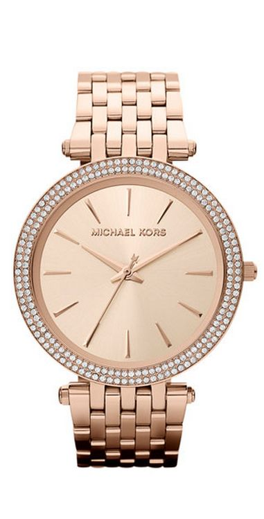 Michael Kors Women\u0027s Darci Gold-Tone Stainless Steel Bracelet Watch 39mm  MK3191